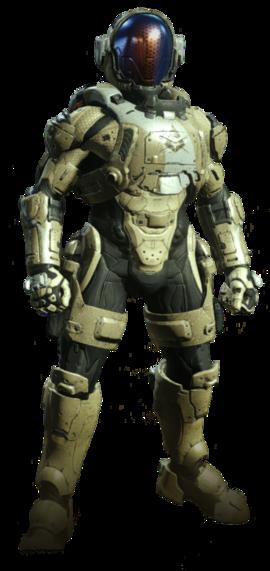 Armadura Potenciada de Asalto MJOLNIR/Variante Buccaneer