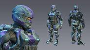 H4 Soldier 3d model