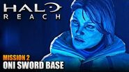 Halo Reach MCC PC - Walkthrough - Mission 2- ONI SWORD BASE (Sub ITA)