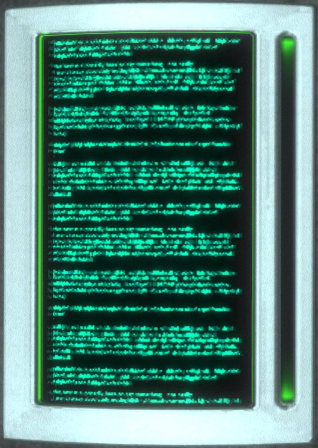 Data pad