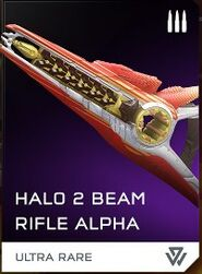 Rifle de Haz Alpha REQ H5G