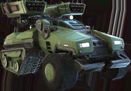 Tanque Principal Anti-Aéreo M9