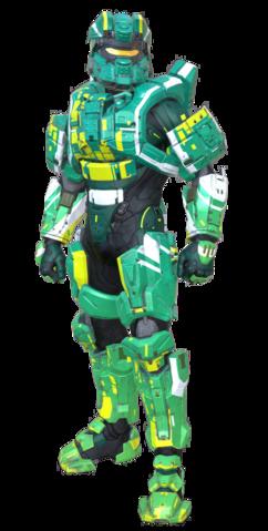 Armadura Potenciada de Asalto MJOLNIR/Variante K