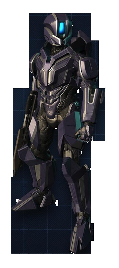 Armadura Potenciada de Asalto MJOLNIR/Variante Prefect