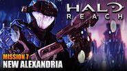 Halo Reach MCC PC Walkthrough - Mission 7 NEW ALEXANDRIA (Sub ITA)