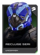 H5G REQ card Recluse Seri-Casque