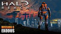 Halo Reach MCC PC Walkthrough - Mission 6 EXODUS (Sub ITA)