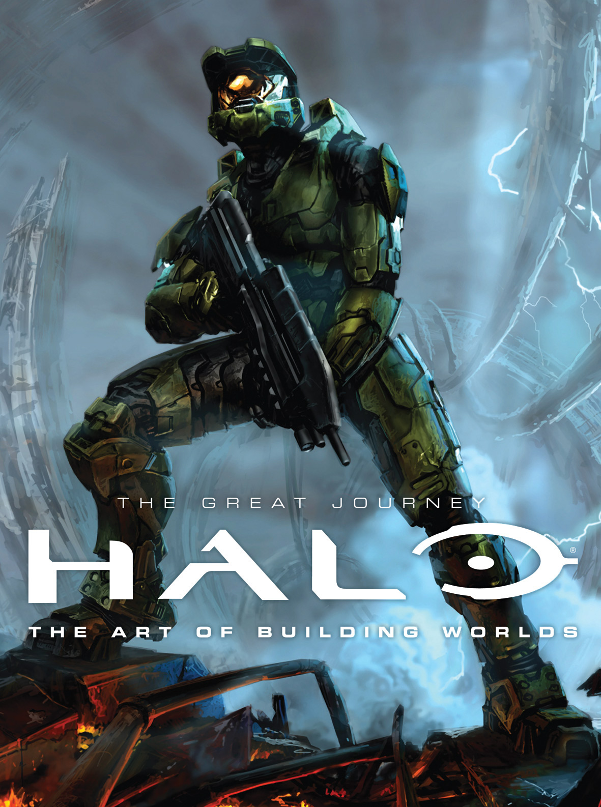 Halo: The Great Journey: The Art of Building Worlds