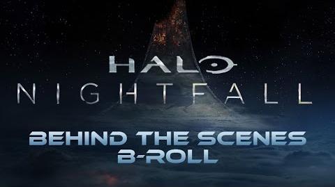 Halo Nightfall - Behind the Scenes B-Roll