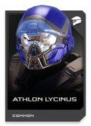 H5G REQ card Casque-Athlon Lycinus