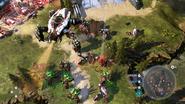 Skitterer bajo control de Colony HW2