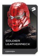 H5G REQ card Casque-Soldier Leatherneck