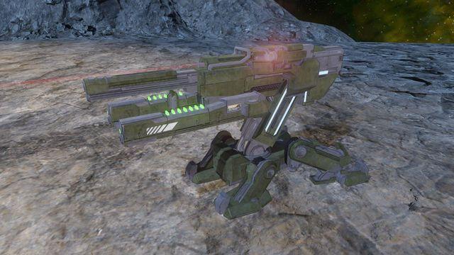 M3063 Automated Heavy Machine Gun/Self-Tracking
