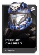 H5G REQ card Casque-Recruit Charred