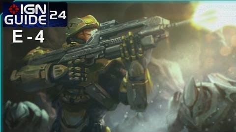 Halo Spartan Assault Walkthrough - Level E-4 Hunt for the Cult Leader (Part 24)