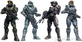 Squadra Blu in Halo 5: Guardians
