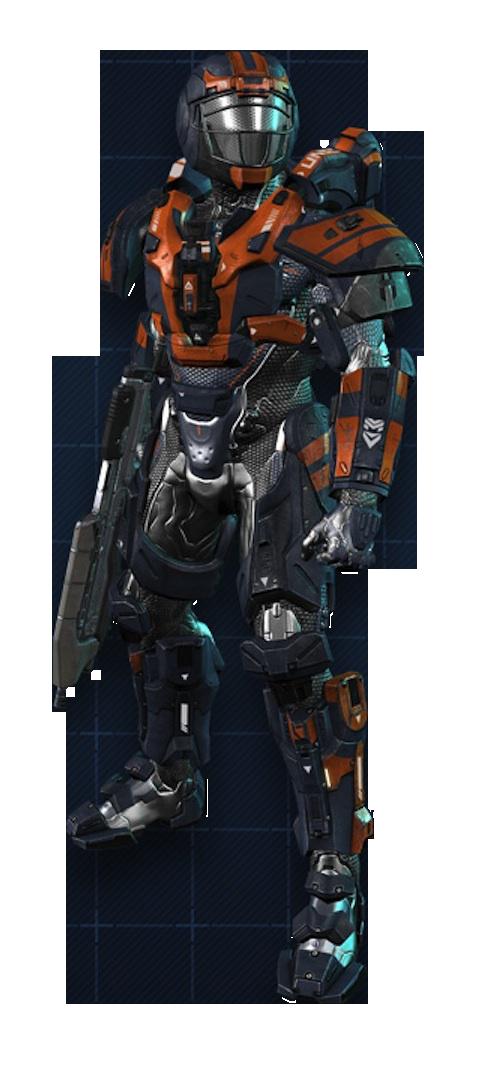 Armadura Potenciada de Asalto MJOLNIR/Variante Ricochet