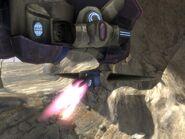 Spirit cannon firing