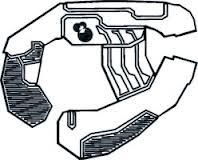 Type-25 Directed Energy Pistol/Jiralhanae Variant
