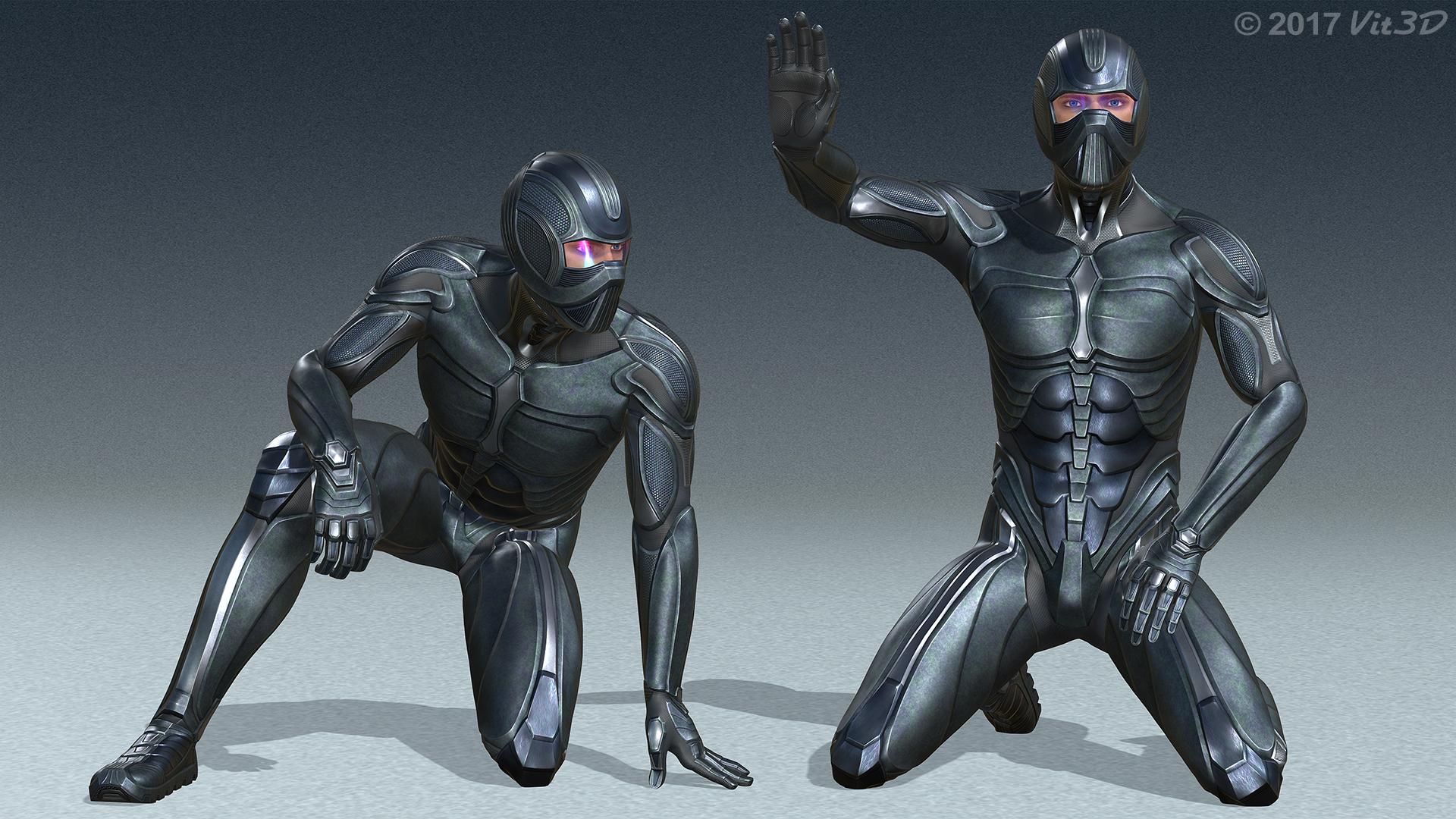 Spartan V Trainee Armor