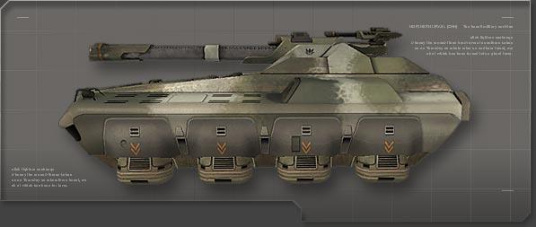 Anti Vehicle Platform-IV Hunter