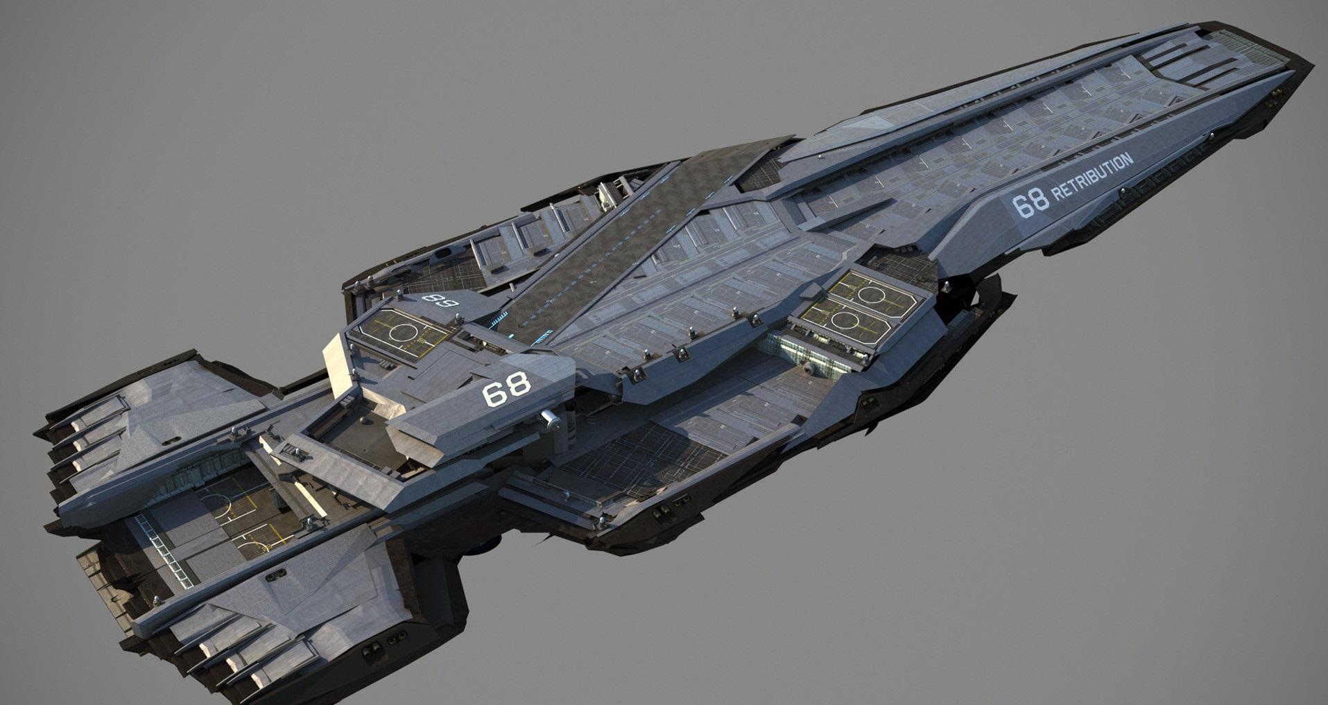 Millennia Class Frigate