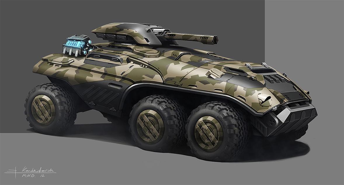 M3021 UNSC Plasma Assault Tank