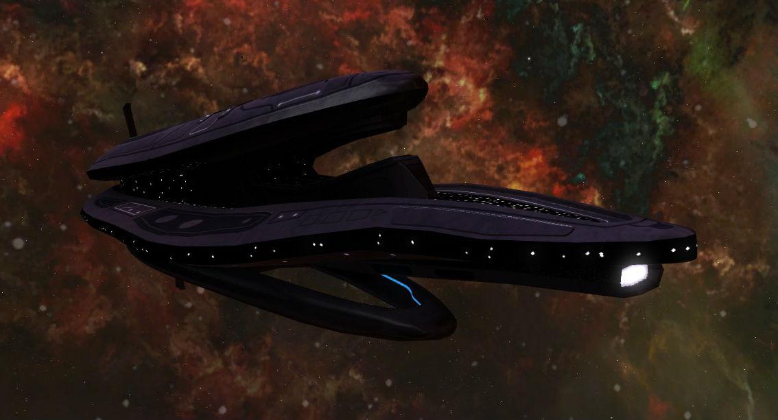 DAV-class stealth corvette