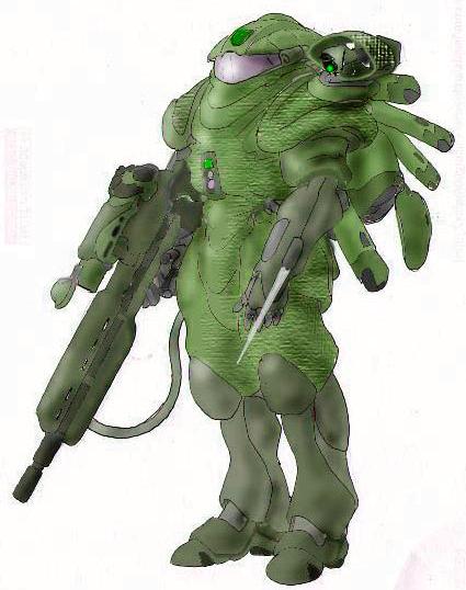 Mark IV/G Prototype Exoskeleton