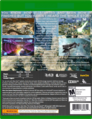 Halo Wars - The Great War Xbox One game back cover M