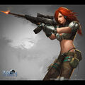 Female special soldier by mooreartcn-d6e0lyf