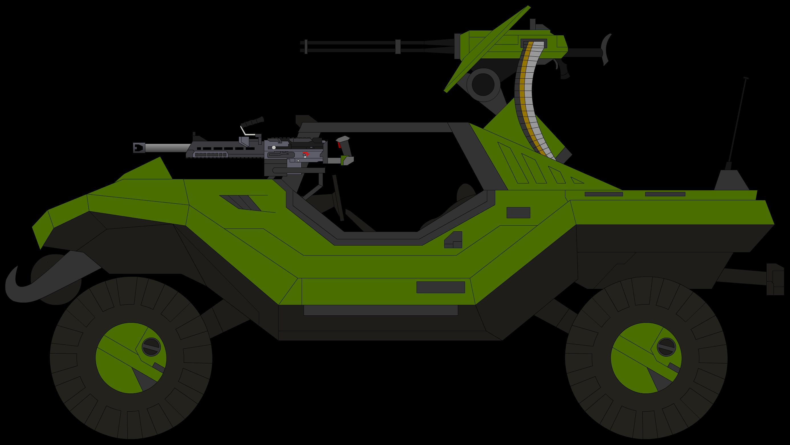 M12C4 Warthog Assassin Rapid Assault Vehicle