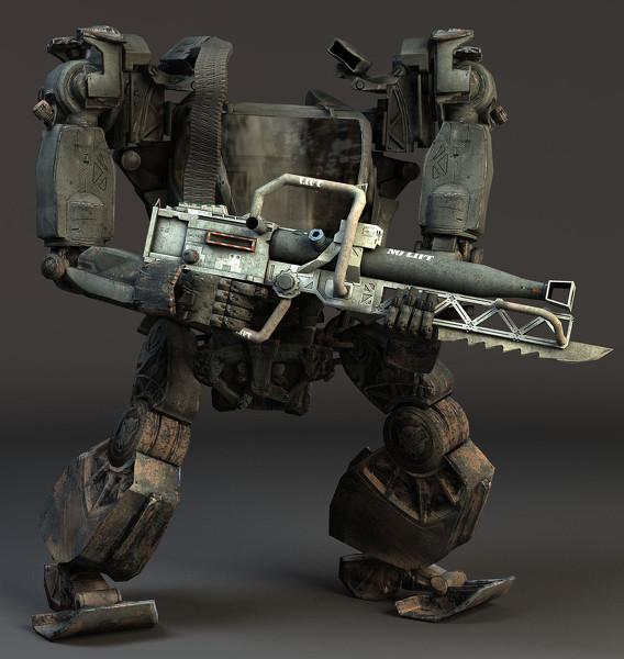 E3A Mobile Assault Exoskeleton