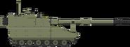 HF tracked howitzer