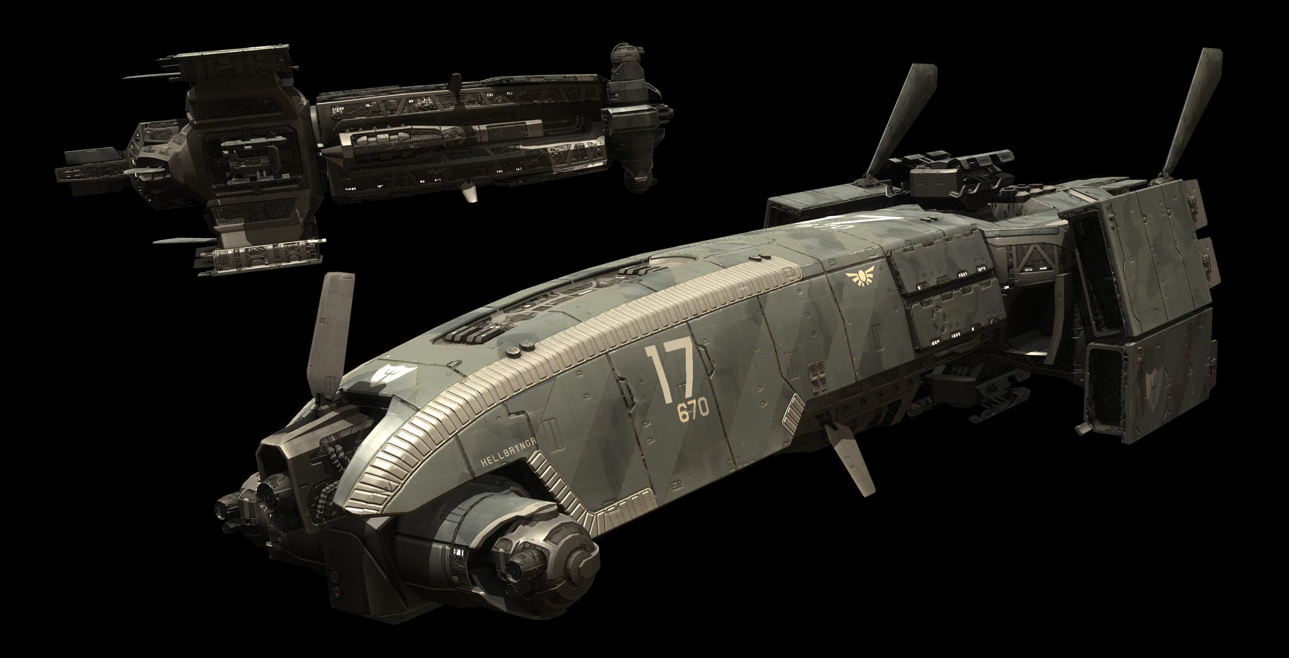 Retarius-class Frigate