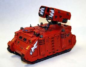 Argenta Self Propelled Missile Artillery Vehicle Model-56