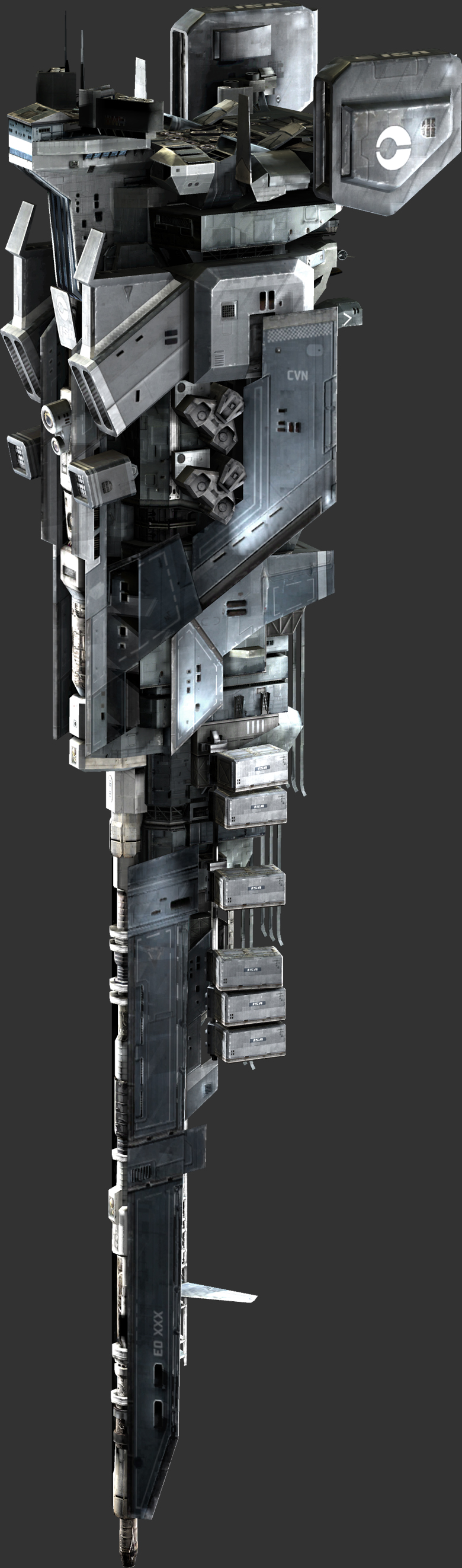 Corinth-class Ultra Heavy Mobile Aerial/Exoatmospheric Weapon Platform Siegework