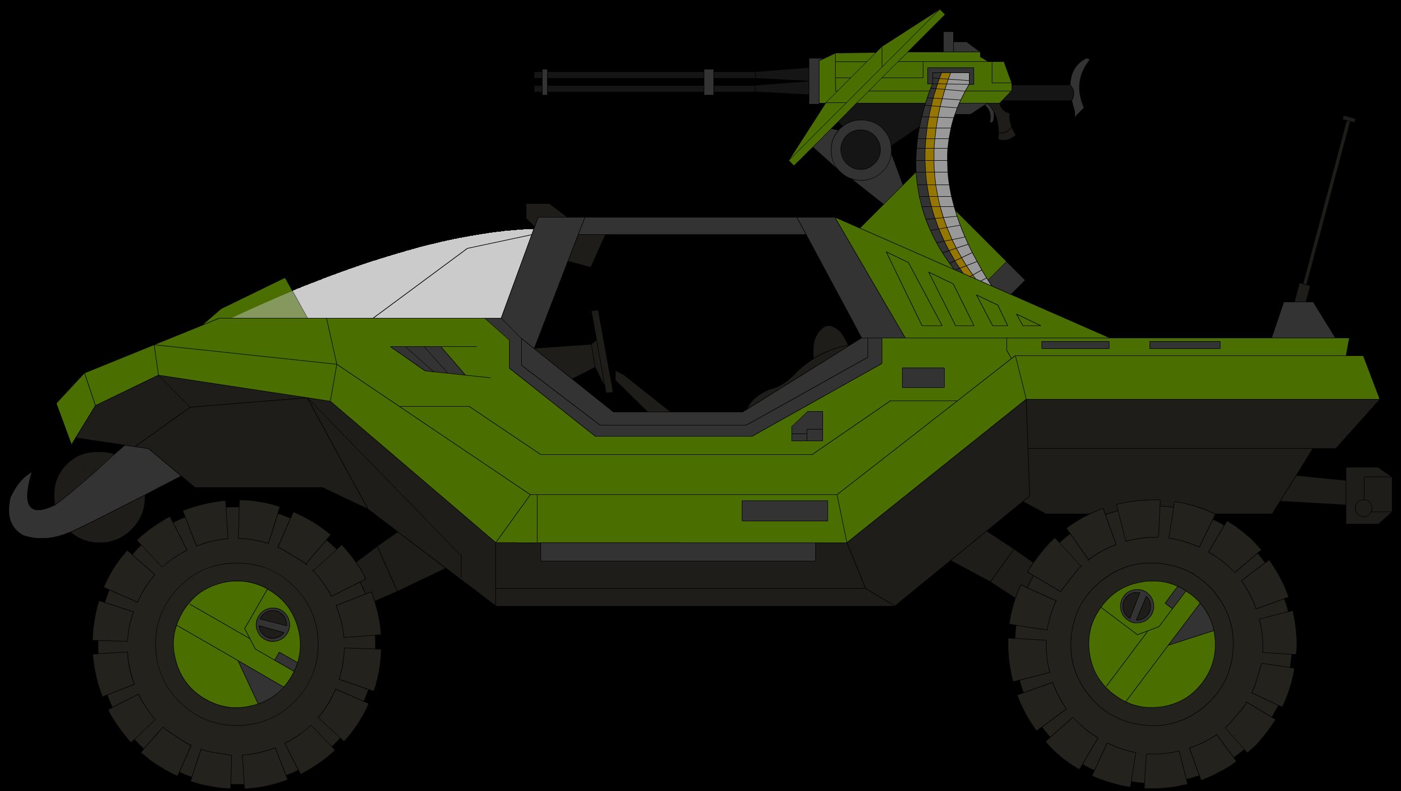 M12B4 Warthog Knight Force Application Vehicle