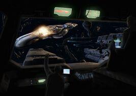 UNSC destroying a CAS carrier.jpg