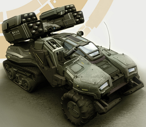 M9B4 Wolverine Self Propelled Anti Aircraft Artillery