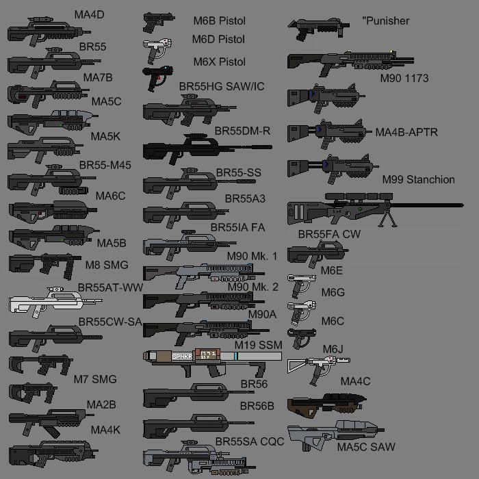 MA4C ICWS Assault Rifle