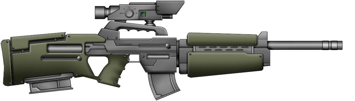 MX55 Battle rifle
