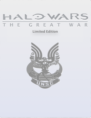 Halo Wars: The Great War Limited Edition