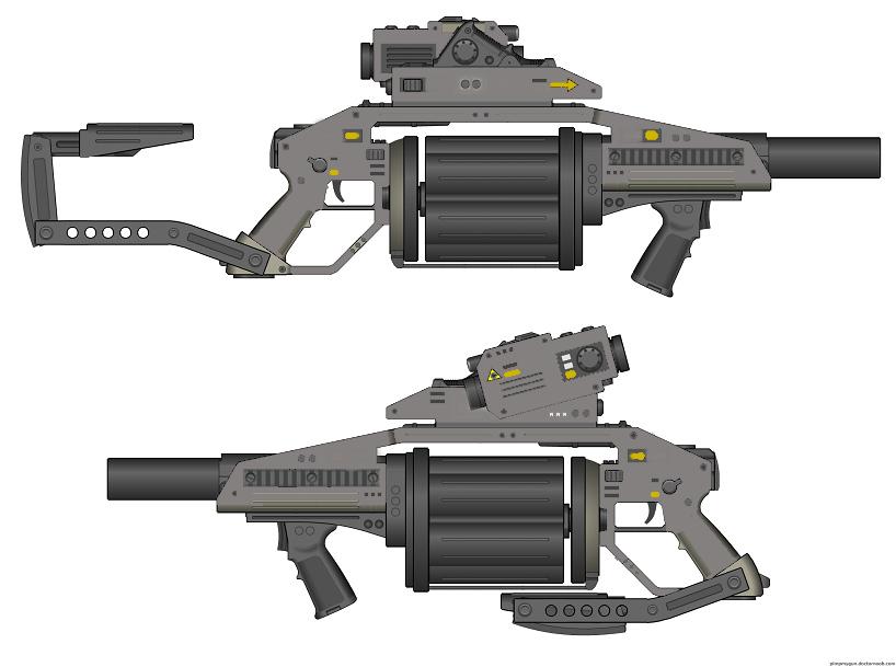 M540 Multiple Grenade Launcher