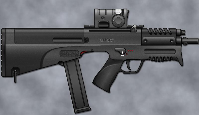 M9/Caseless Submachine Gun