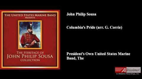 John Philip Sousa, Columbia's Pride (arr. G