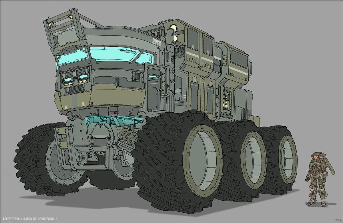 M44 ESRV (Exploration, Science, and Reconnaissance Vehicle)