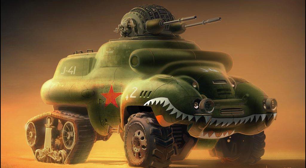 All Terrain Combat Vehicle-X Warrior