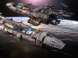 Canberra-class combat orbitor