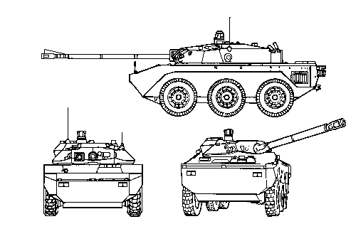 M754 Light Armored Vehicle